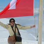with the swiss flag
