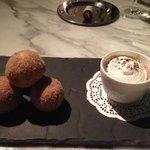 Donuts and Coffee at Gordon Ramsay