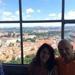 Vista dalla Lookout Tower della collina di Petrin