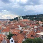 Panorama dalla collina del Castello di Praga