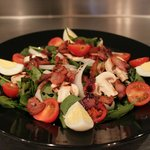 Bacon Spinach: in a red wine reduction sauce