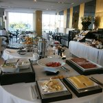 Hotel's breakfast buffet