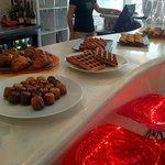 brunch pastries buffet