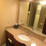 Hampton Inn Columbia Northeast-Fort Jackson Area; bathroom