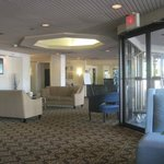 lobby, Quality Inn Detroit-Troy, Troy, MI, July 2014