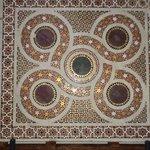 Mosaico Bizantino dentro de la Catedral !!