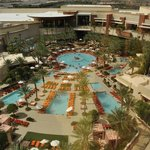 The Pool at the Red Rock Resort