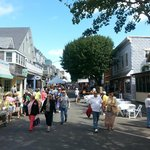 Tivoli Days sidewalk sales. Circuit Ave becomes a huge walking street.