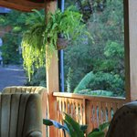 the dinning room/bar porch
