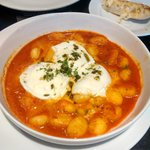 gnocchi with melted mozzarella