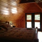 Loft bedroom with Balcony!