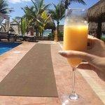 Cocktail @ lap pool