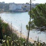 Пляж La Larga (оптимальный для купания)