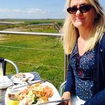 seafood platter in the sun