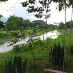 beautiful greenery on the banks of the River Pai, to relax in & enjoy the peace & nature