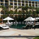 Back of resort on east side