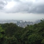 view over Kobe from the top