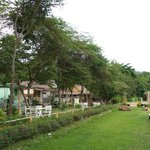 the delightful cottages along the banks of the Pai River