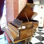 Piano in the Main Hall is still played once a month