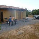 bungalow ed area adiacente