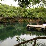 Cenote near lobby