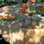 Gourmet Picnic Lunch Served Tableside at a Vineyard