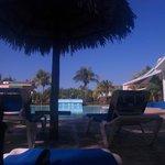 pool area between arenas blancas and solymar