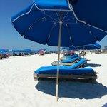 Beach chair/umbrella rentals $25 or $30 per day