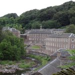 new Lanark from the Clyde Falls walk