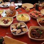 O almoço alemão incrível!!