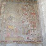 hieroglyphs in Hatshepsuts temple