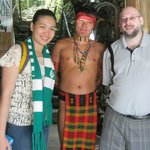 me, emie, and a native