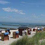Der Strand vorm Kurhaus
