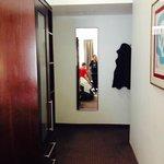 wardrobe and mirror