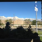 Mount Whitney view from entrance and even from rooms.