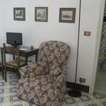 Sitting area of bedroom