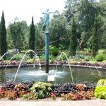One of the many garden fountains at Brookgreen garden, SC - July 2014