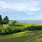 View of the Ocean from lawn on the hotel property