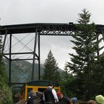across the loop bridge