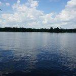 A lovely lake.