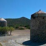 Древние ветряные мельницы