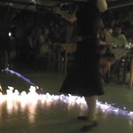 Greek dancing with fire