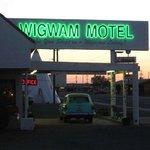 Motel front
