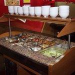 The salat bar.