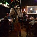 Pirates entertain little guests