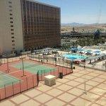 Pool/Tennis View