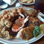 Man vs food platter