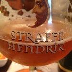 Brugge's great 9% tripel beer