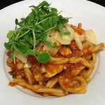 Chicken and Cheriso Gemelli