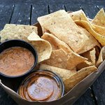 Chips and Hot Salsa...  Yowch !!